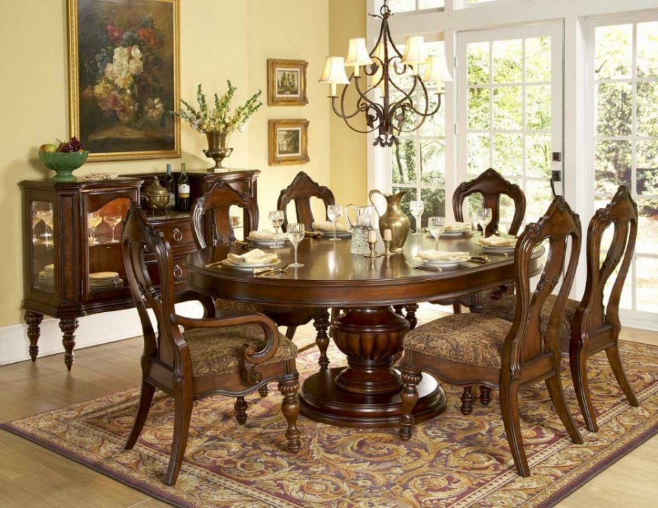Classic Dining Room Design by Aico Furniture