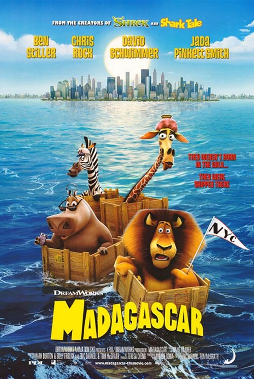 Madagaskar 1 (2005) 1080p Film indir