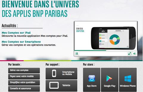 AppStore BNP Paribas