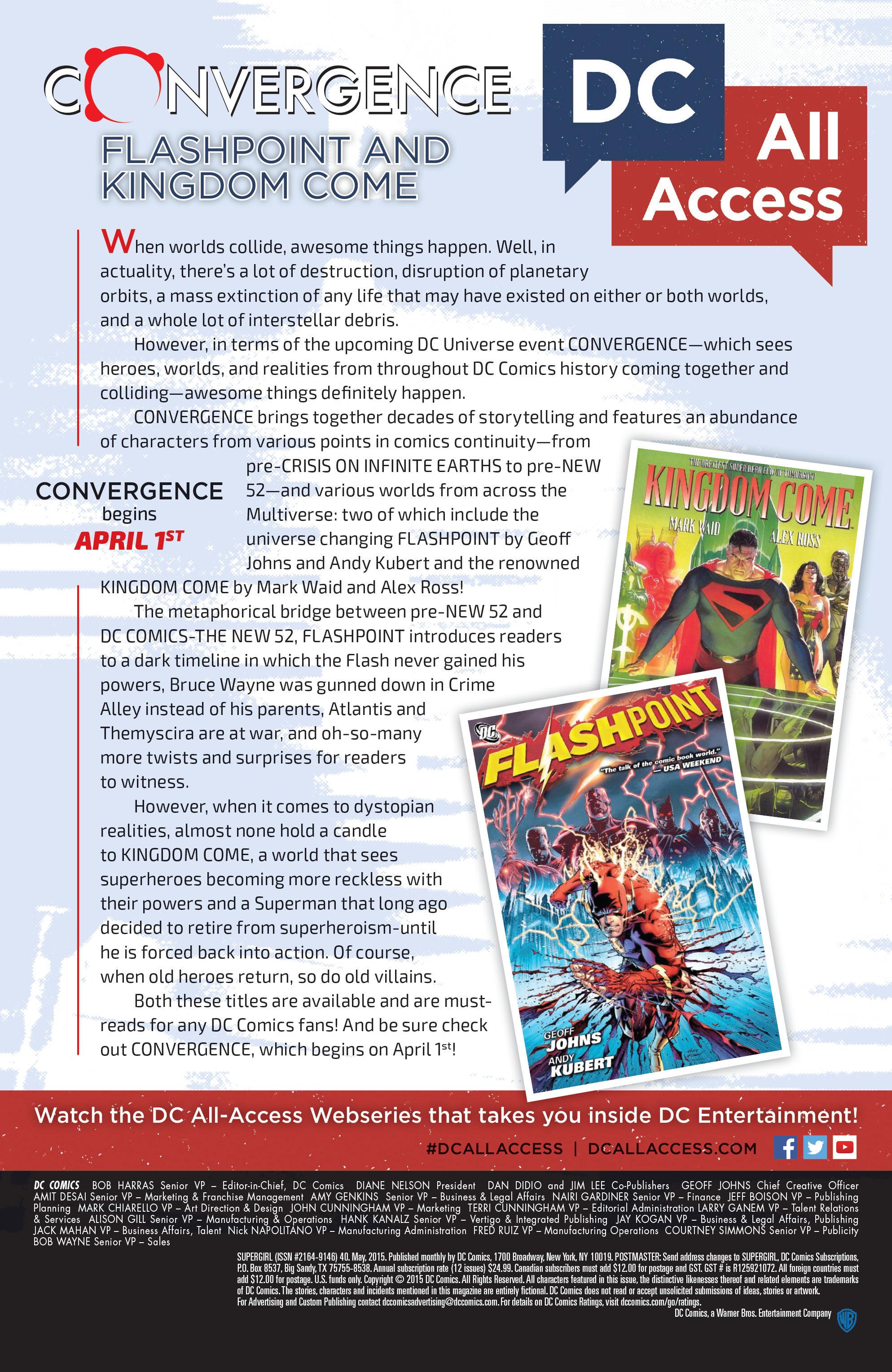 Supergirl (2011) Issue #40 #42 - English 25