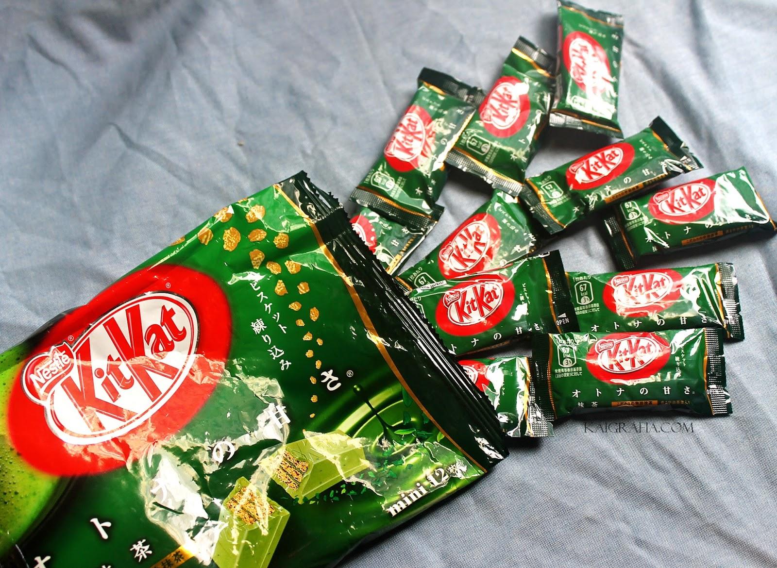 Kitkat Green Tea Mini