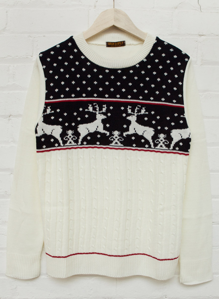 Around £m is expected to be spent on festive knitwear this year. Why do so many buy into such an infantilising look?