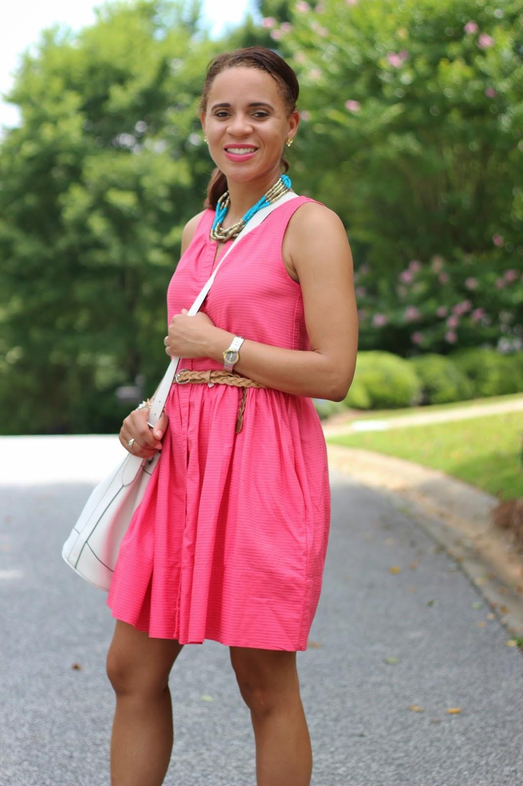 Gap-pink-dress