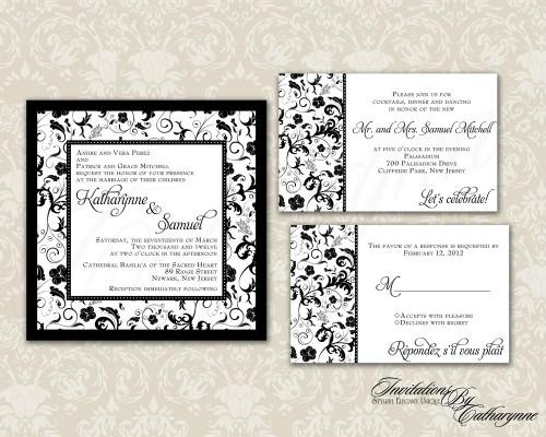 Hot Vintage Wedding Invitations 2013