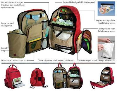 peluang bisnis rumahan perlengkapan bayi dan anak baby bag travel