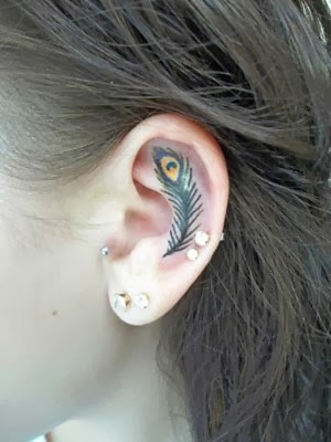 Fotos de tatuagens pequenas de pavão