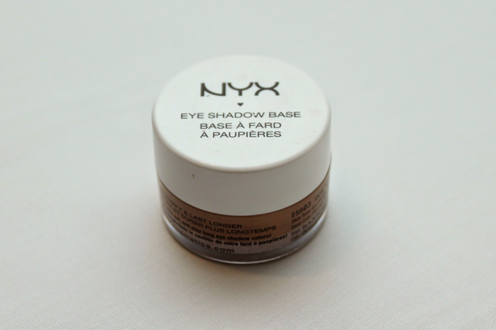 Nyx Eye Shadow Base in Nude
