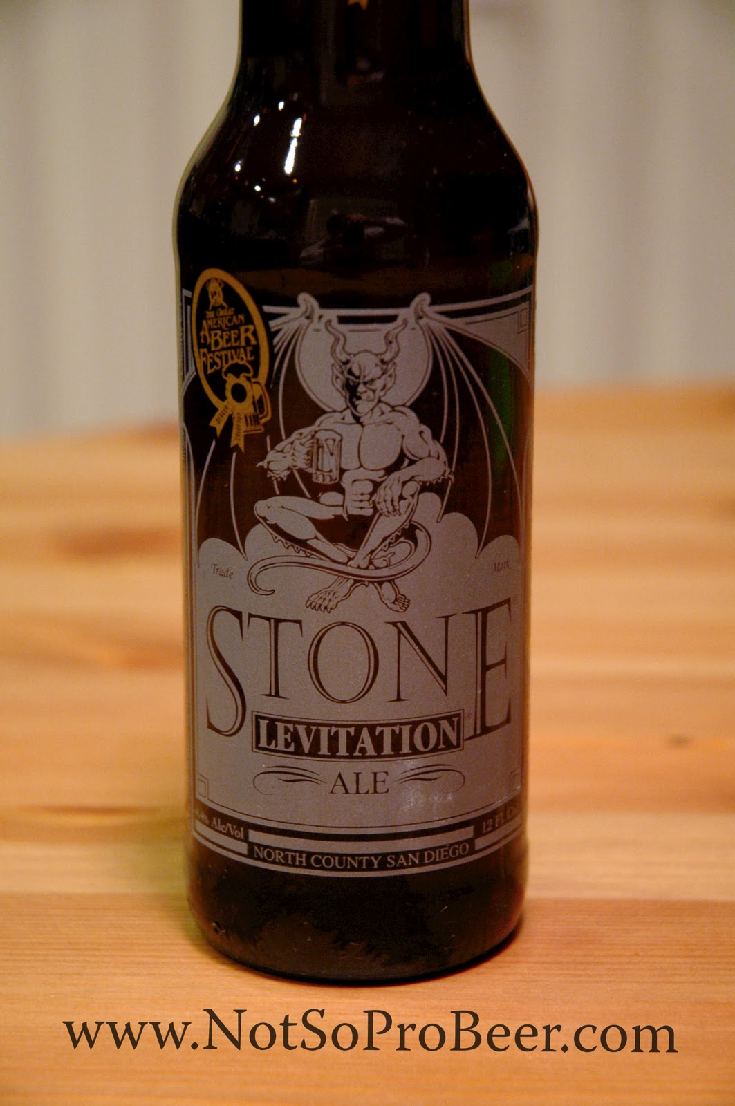 Stone Levitation Ale : The not so professional beer review levitation ale