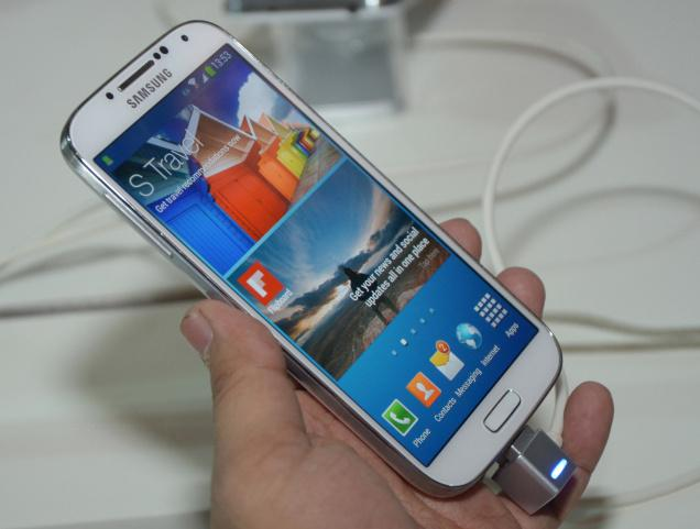 generation of its galaxy range of phone s4 in india at rs 41500 the