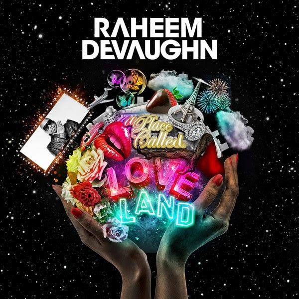 Raheem DeVaughn - A Place Called Love Land Cover