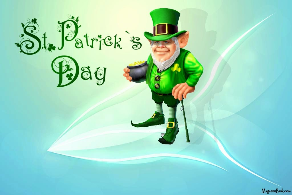 Happy Saint (St) Patrick's Day Wishes Greeting Cards Wallpapers