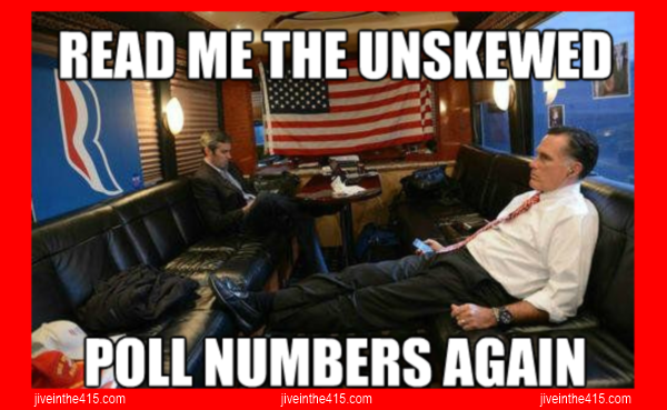 Romney Ryan meme eloection 2012 unskewed polls