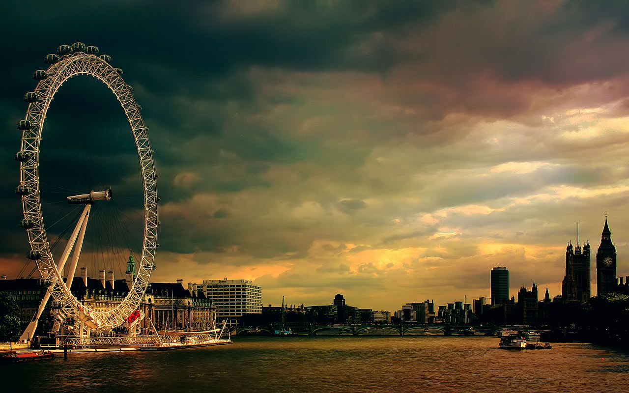 london eye English: the london eye is a 135-metre (443 ft) tall giant ferris wheel situated on the south bank of the river thames, in london, england it stands on the western end of jubilee gardens in lambeth, north of westminster bridge and opposite the houses of parliament.