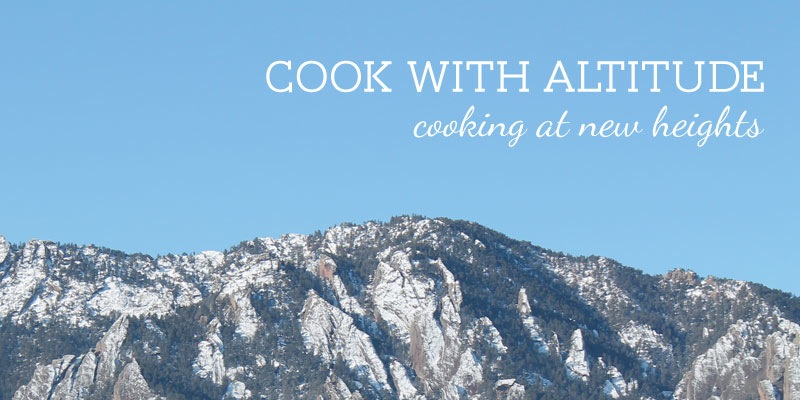 Cook with Altitude