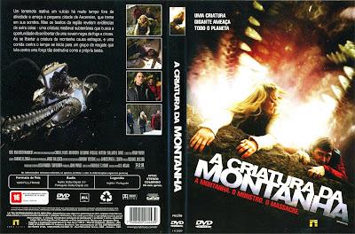 A Criatura da Montanha DVD Capa