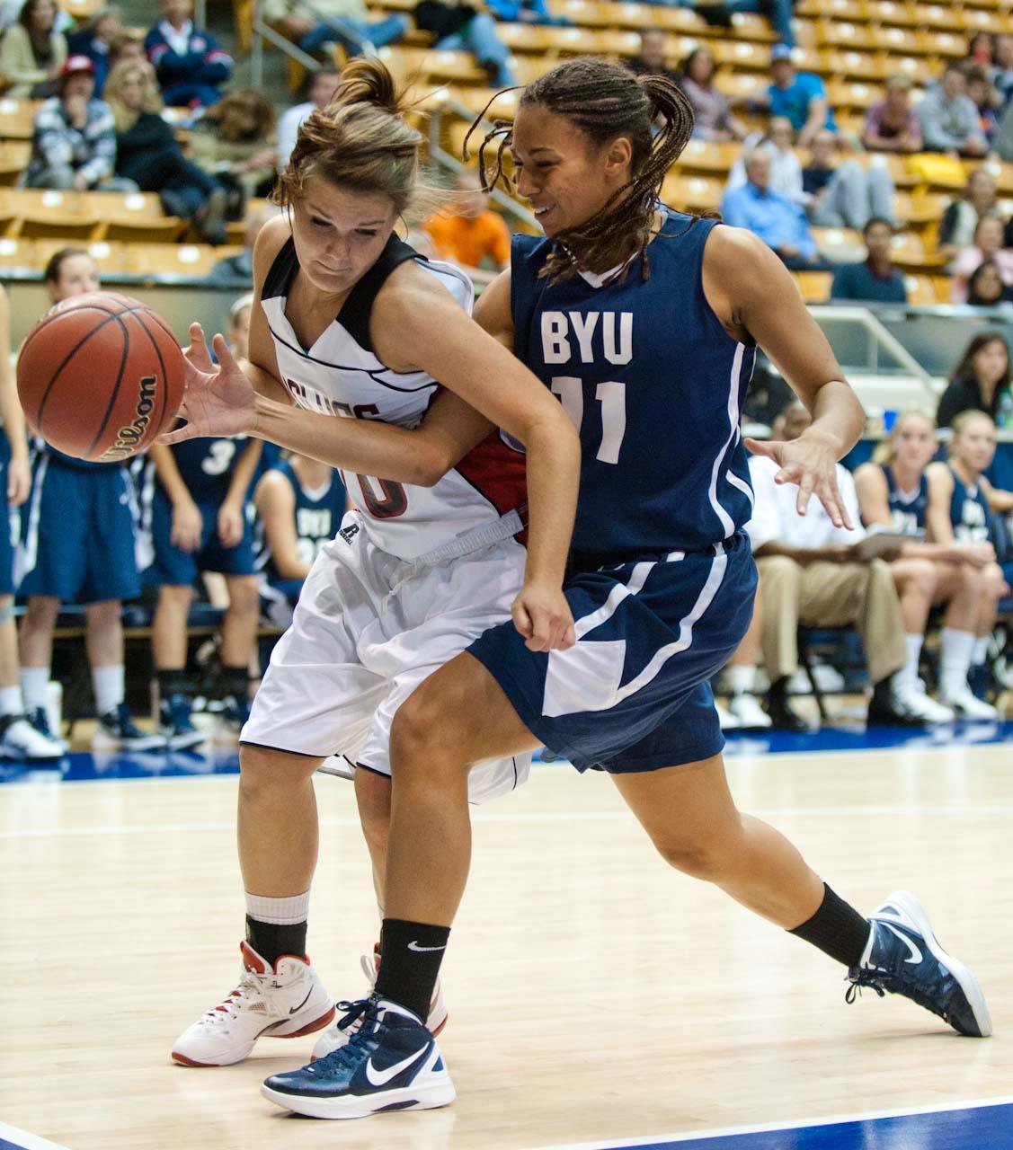 Luke Hansen Photography: BYU Women's Basketball 2011