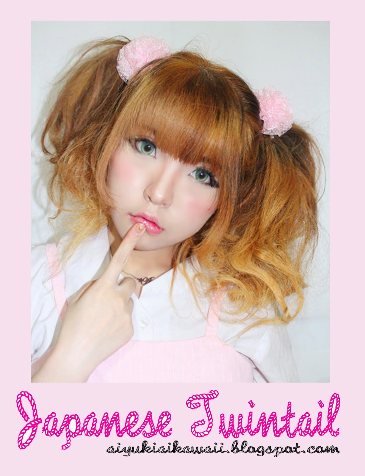 Aikawa Life, Beauty & Fashion: Hair Tutorial : Japanese Twintail