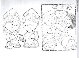 Dibujos Para Colorear Sobre El Verano  Las Vacaciones Y La Graduaci  N