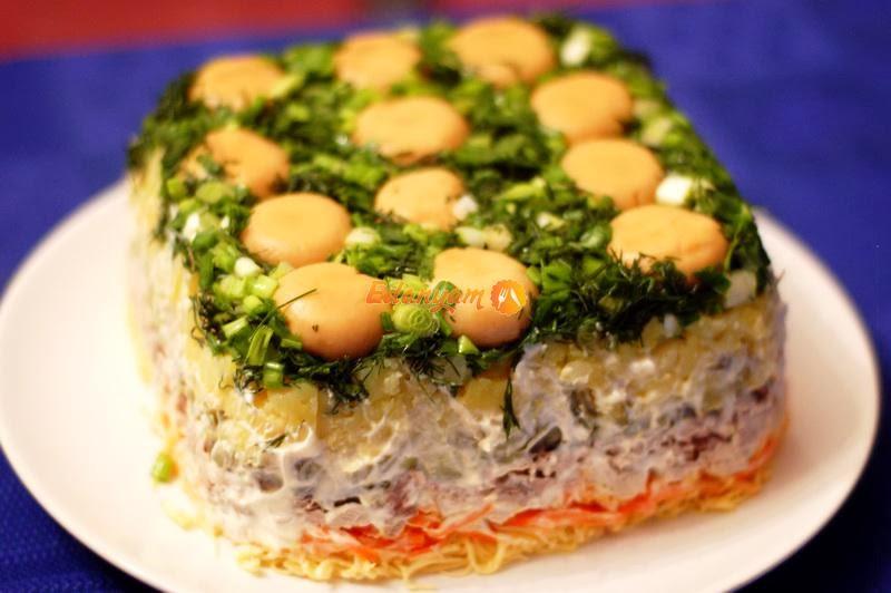 Салаты с рецептами мясные на день рождения