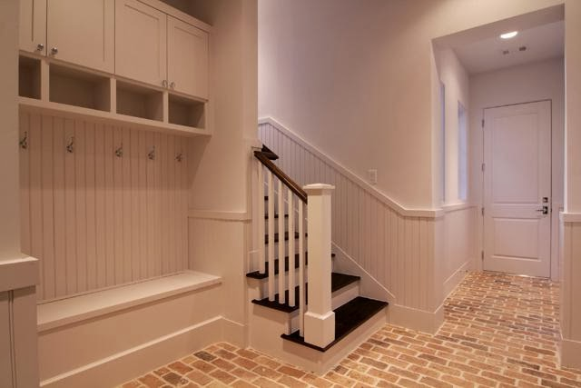 Meet me in philadelphia the appeal of a brick floor for Mudroom floors