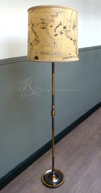 Retroalmacen tienda online de antig edades vintage y decoraci n l mpara de pie suelo - Lampara de pie vintage ...