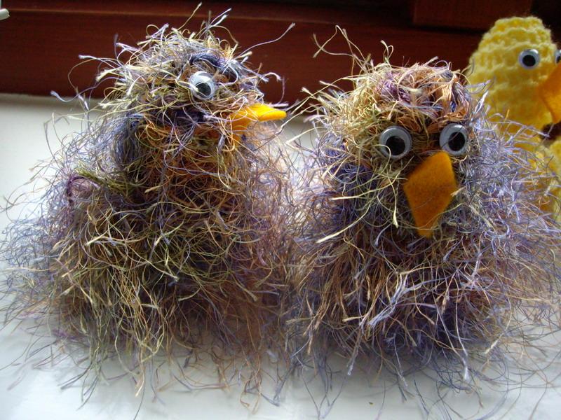 Knitting Easter Chicks : Deb s cards knitted easter chicks