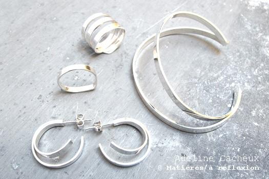 Nouvelle collection argent 925 Adeline Cacheux
