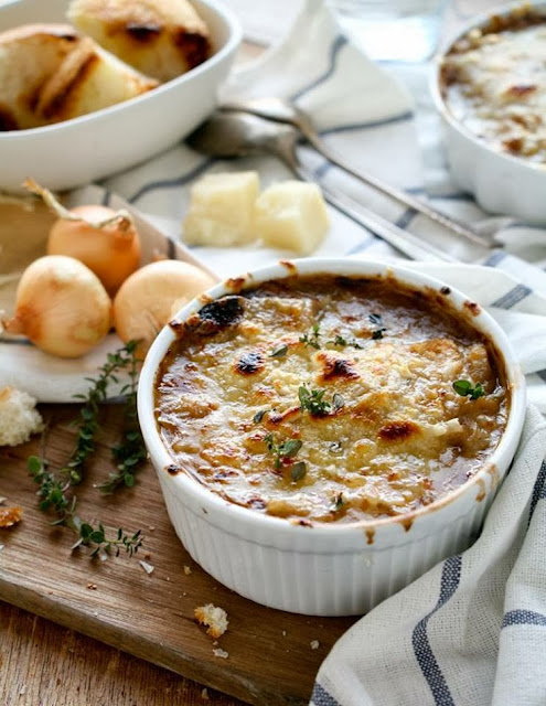 zuppa di cipolle alla francese / french onion soup recipe