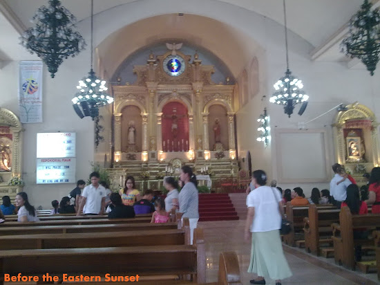 Altar of Balibago Church