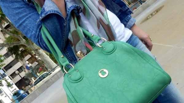 bolso verde tous bag greeen