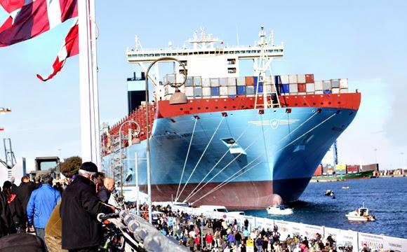 buque portacontenedores amigable con el medio ambiente triple-e