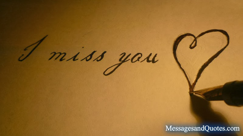 I miss you messages and quotes