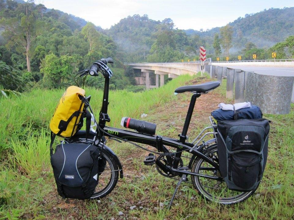 Aventurasenunabiciplegable: Cicloturismo con mi bicicleta plegable
