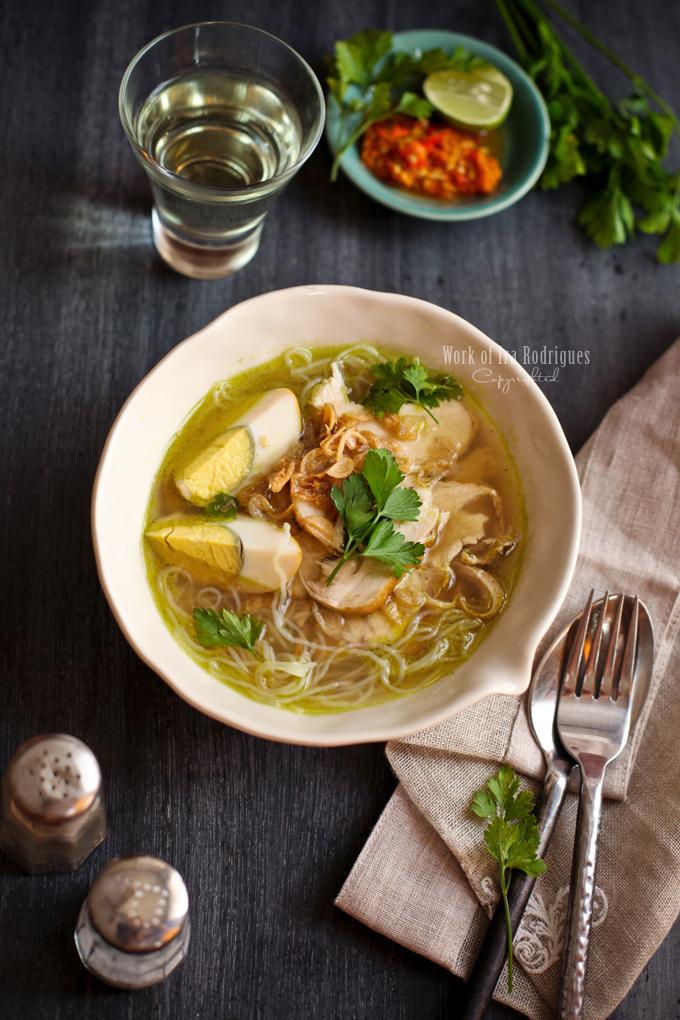 Soto Ayam Recipe — Dishmaps