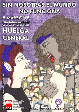 8 de marzo, Huelga General