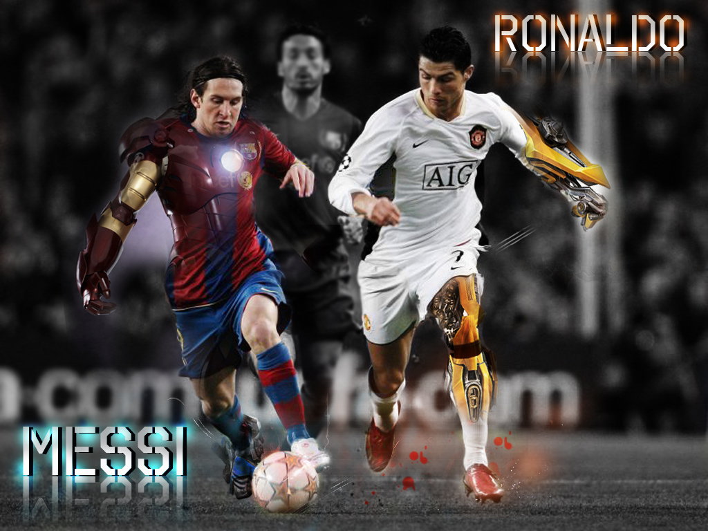 ronaldo v messi Cristiano ronaldo or the retired brazil star ronaldo - who is the greatest.