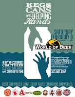 Kegs Cans and Helping Hands