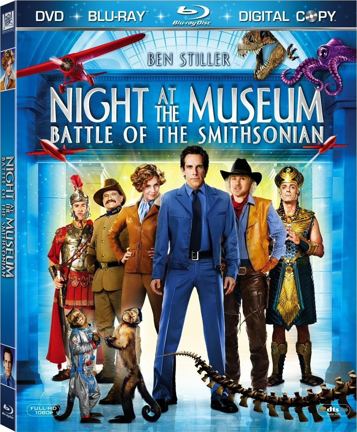 Night at the Museum: Battle of the Smithsonian - Μια Νύχτα στο Μουσείο (2009) ταινιες online seires xrysoi greek subs