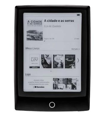 ECOSSISTEMA SARAIVA: E-reader LEV da Saraiva completa um ano