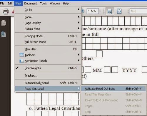 كيفية جعل ملفات ال PDF مسموعة وسماع محتويات أي ملف أو كتاب ألكتروني بصيغة PDF