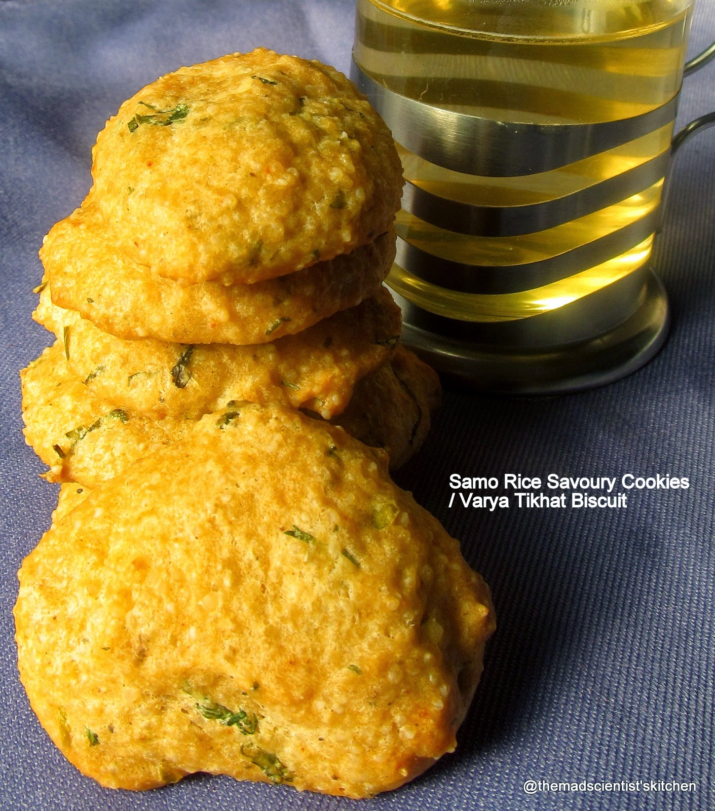 Samo Rice Savoury Cookies/ Varya Tikhat Biscuit