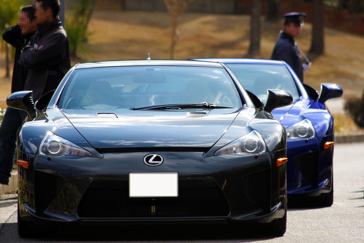 Lexus LFA japoński supercar
