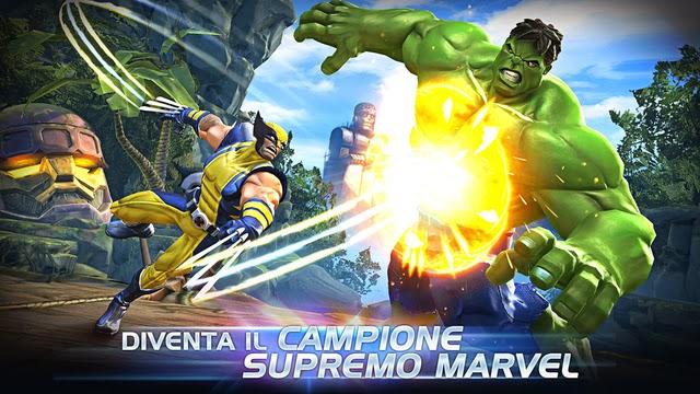 Trucchi Marvel Contest of Champions iPhone argento e risorse infinite, potenziamenti gratis