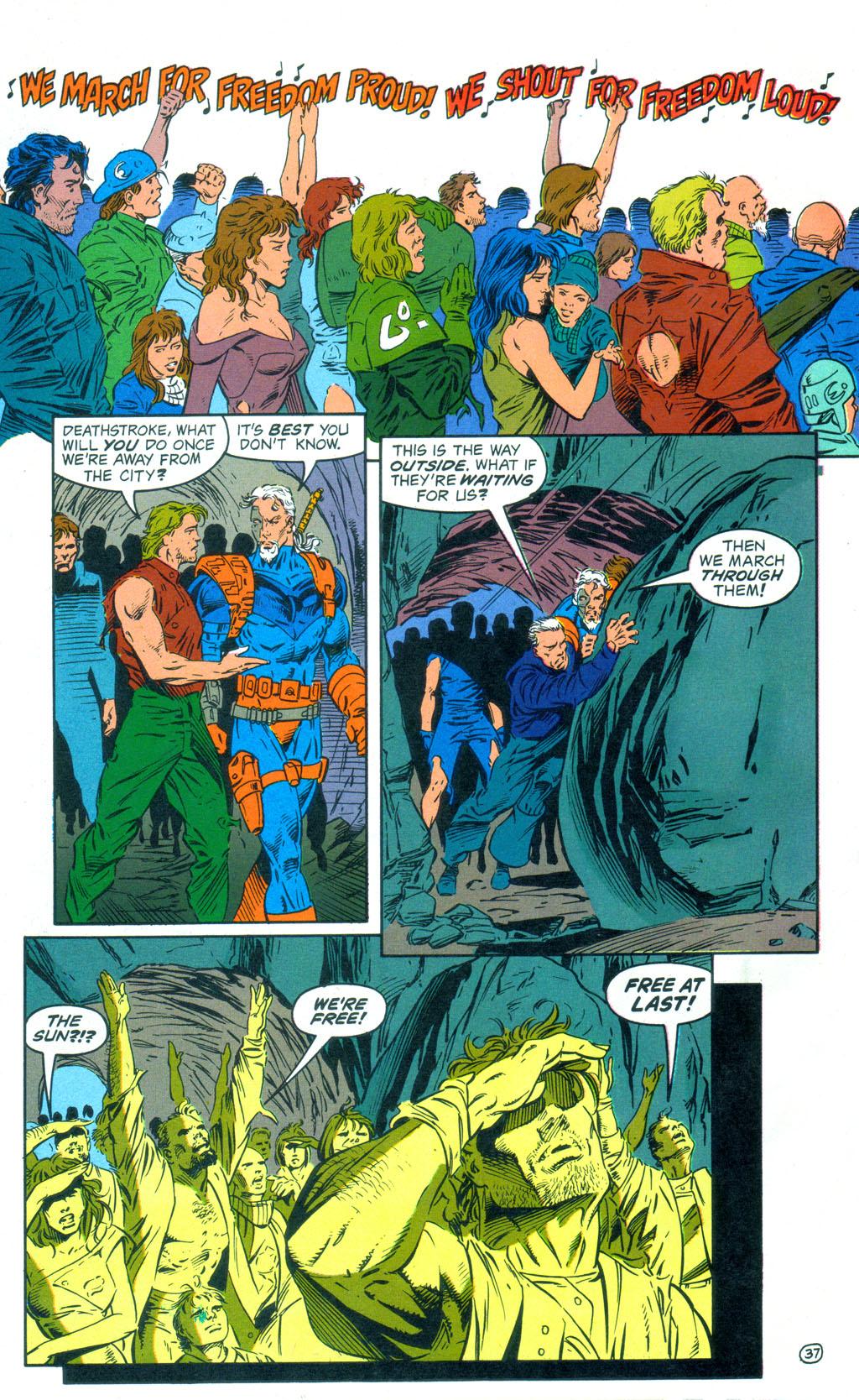 Deathstroke (1991) Annual 3 #3 - English 38