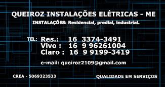 QUEIROZ INST. ELÉTRICAS -SÃO CARLOS/SP