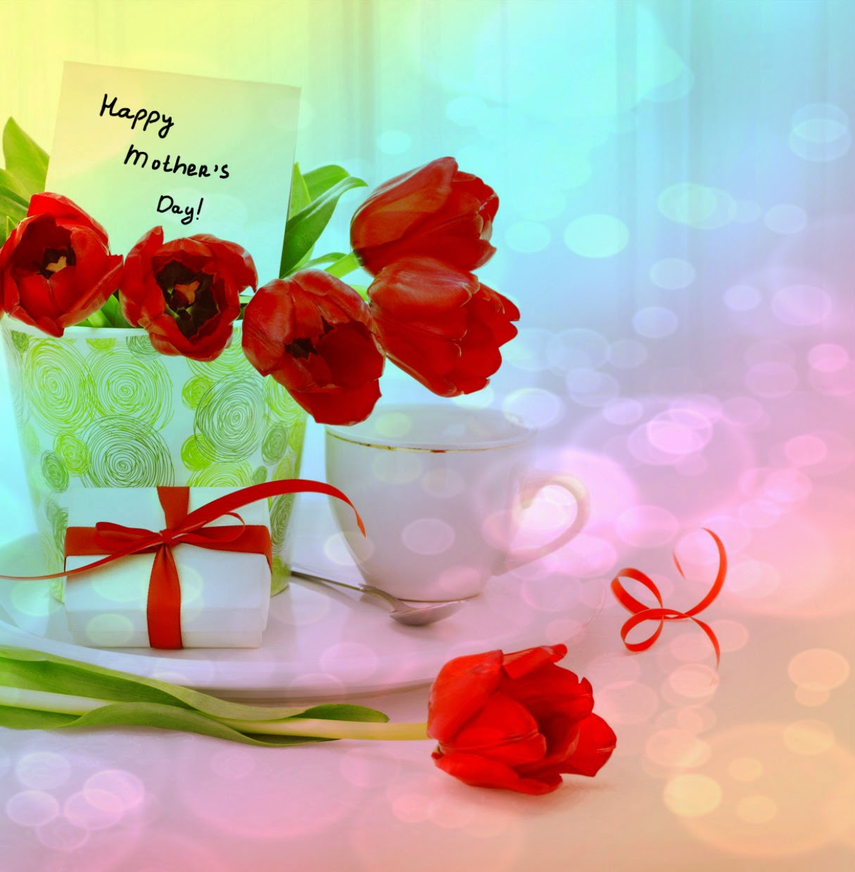 Online mothers day wishes cards greetings images chaska gallery beautiful red rose greetings cards for my sweet and lovely mom m4hsunfo
