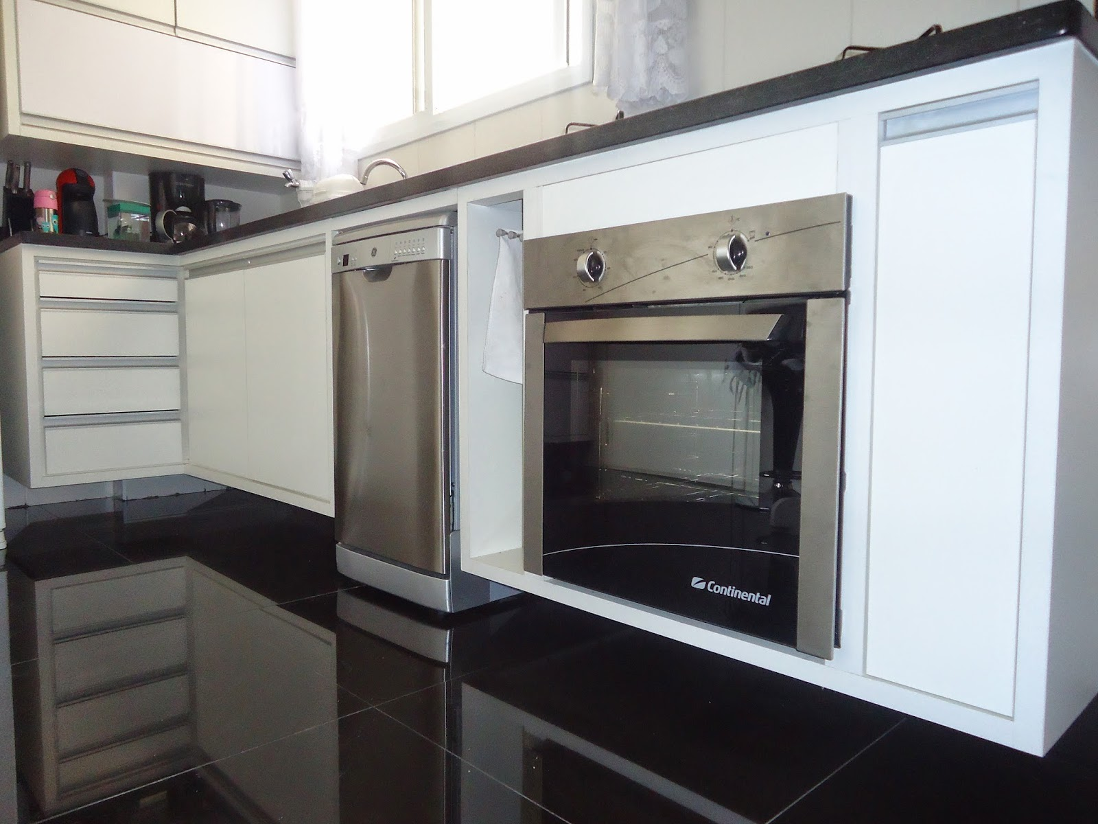 armário para lava louças e forno #576574 1600 1200