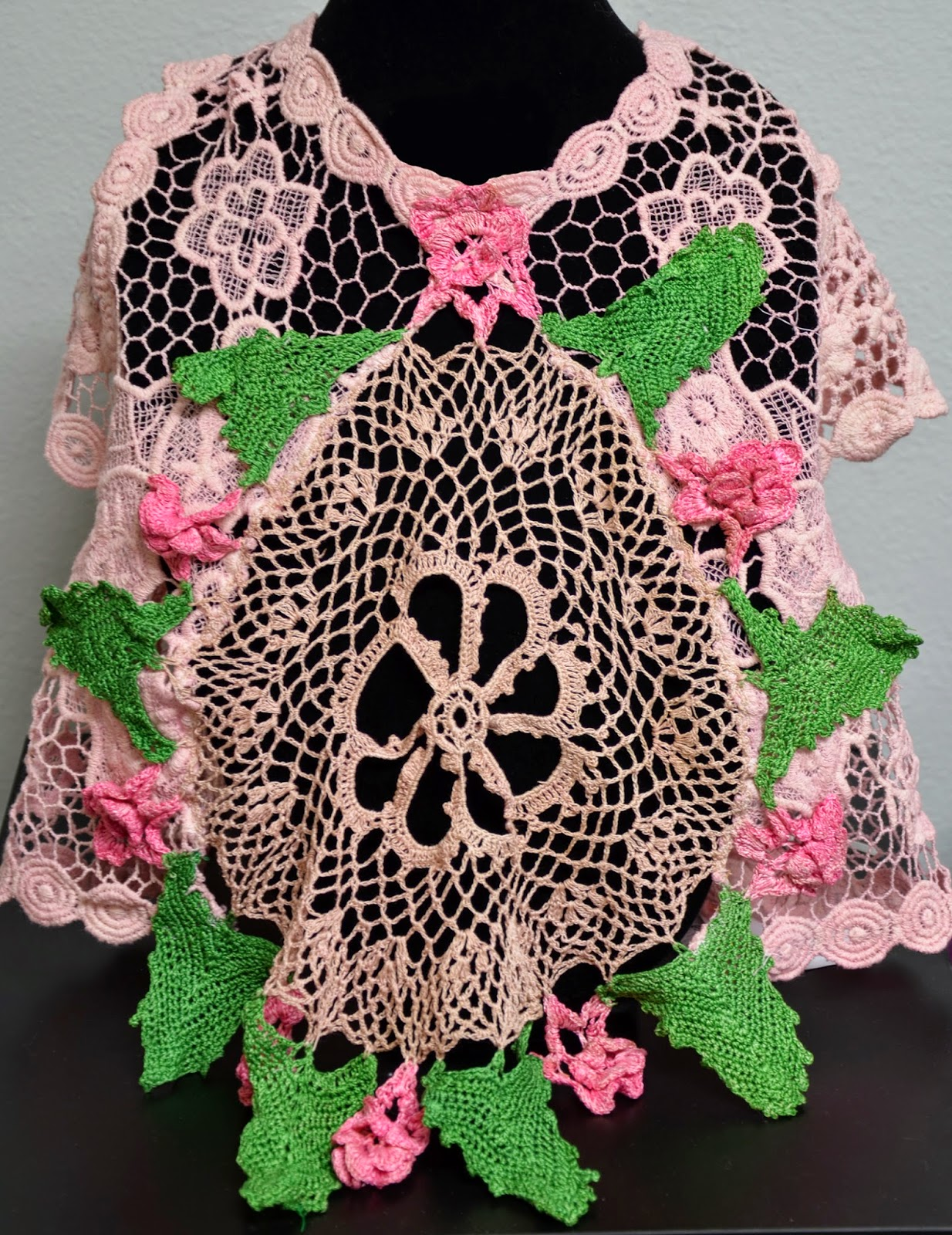 Handmade Lace Shawl