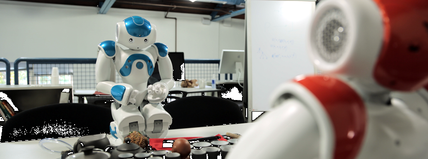 Did This Little NAO Robot Just Become Self-Aware?