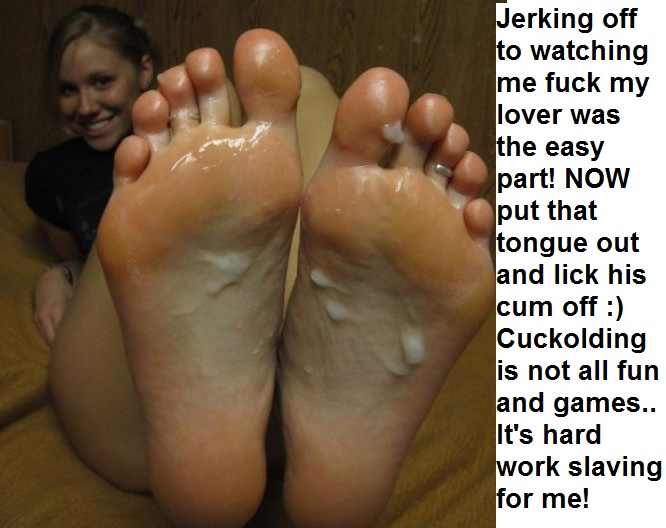 Feet domination and humiliation